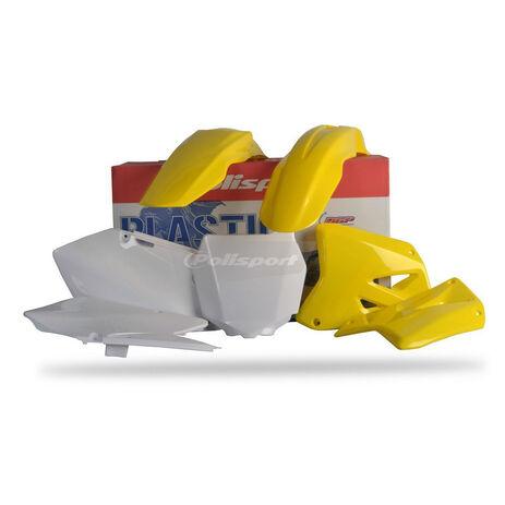 _Kit Plastiques Polisport Suzuki RM 125 250 01-08 | 90095 | Greenland MX_