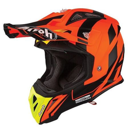_Casque Airoh Aviator 2.3 Bigger Orange | AV23B32 | Greenland MX_