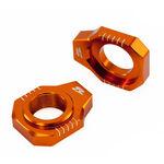 _Tendeur de Chaîne Zeta KTM SX/SXF 13-19 Orange | ZE93-5417 | Greenland MX_