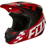 _Casque Fox V1 Sayak Rouge | 19534-003-P | Greenland MX_
