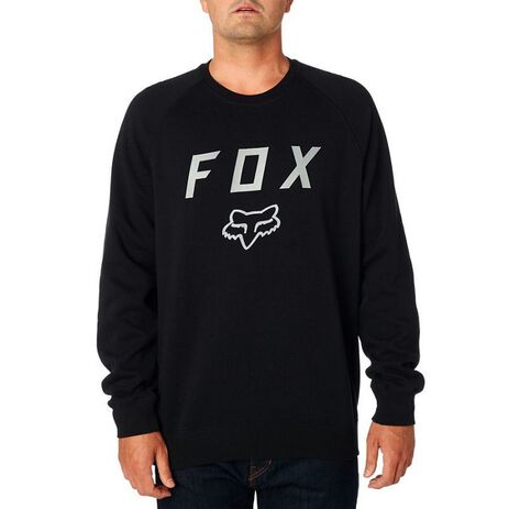 _Sweat Fox Legacy Crew Nero | 21141-001-P | Greenland MX_