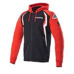 _Sweat-Shirt à Capuche Alpinestars Honda Rouge/Noir | 1H20-23200 | Greenland MX_