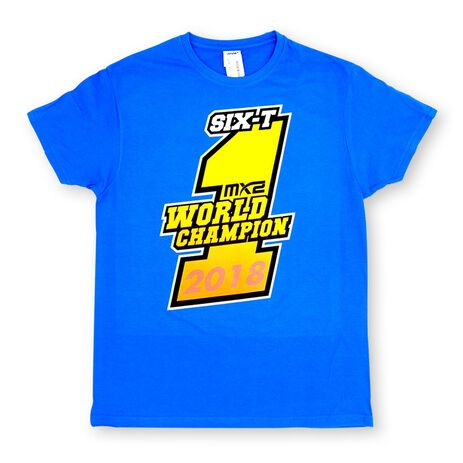 _T-shirt Jorge Prado Champion Bleu | JP61-300BL | Greenland MX_