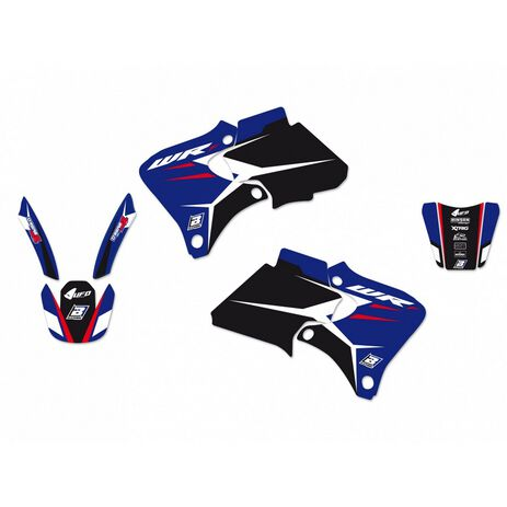 _Kit Deco Blackbird Dream 4 Yamaha WRF 250-400-426 98-02 | 2227N | Greenland MX_