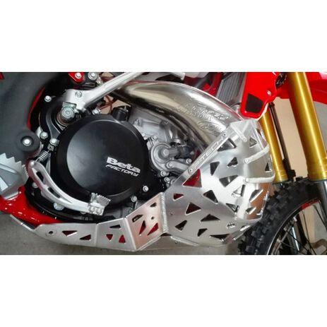 _Sabot Avec Protecteur Echappement P-Tech Beta RR 250/300 13-19 | PK002 | Greenland MX_