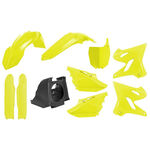 _Kit Plastiques Polisport MX Restyling Yamaha YZ 125/250 02-14 à 15-18 Jaune Fluo | 90745 | Greenland MX_