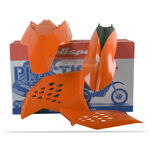 _Kit Plastiques Polisport KTM SX 07-10 EXC/EXCF 08-11 Orange | 90182 | Greenland MX_