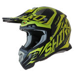 _Casque Shiro MX-917 Thunder Jaune Fluor | 977-04 | Greenland MX_