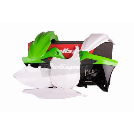 _Kit plastiques polisport Kawasaki KX 450 F 13-15 | 90545 | Greenland MX_