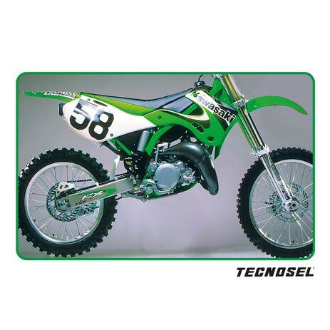 _ Housse de Selle Tecnosel Replica OEM Kawasaki 2000 KX 125/250 99-02 | 14V03 | Greenland MX_