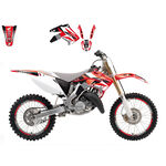 _Kit Autocollants Blackbird Honda CR 125/250 02-07 | 2136E | Greenland MX_
