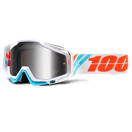 _Lunettes 100% Racecraft Calculus Ice Mirror Silver | 50110-205-02 | Greenland MX_