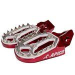 _Reposes-pieds Enduro Apico Pro-bite Husqvarna FC 16-.. KTM SX-F 16-.. | AP-FPROKTM16RD-P | Greenland MX_