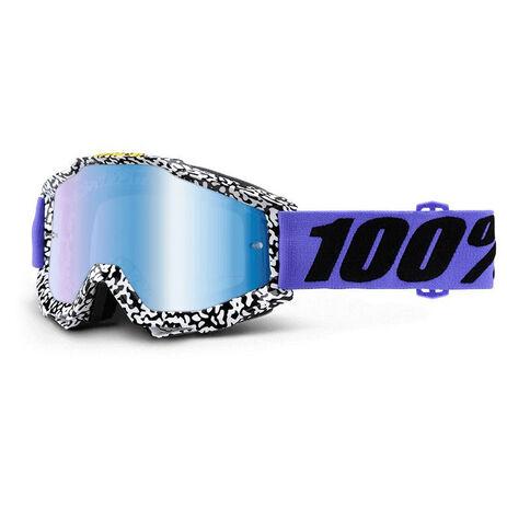 _Lunettes 100% Accuri Brentwood Mirror Bleu | 50210-211-02 | Greenland MX_