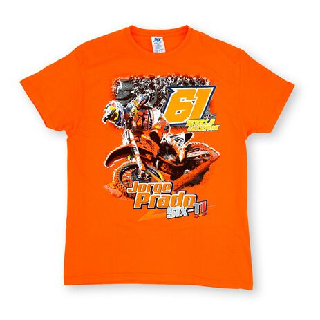 _T-shirt Jorge Prado Action Orange | JP61-200OR | Greenland MX_