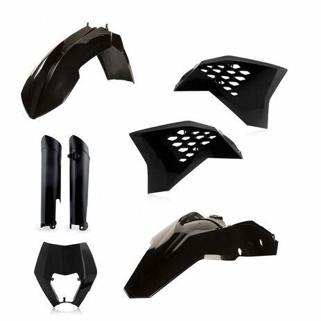 _Full Kit Plastiques Acerbis KTM EXC/EXC-F 08-11 Noir   0014219.090   Greenland MX_