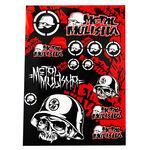 _Stickers Varies 4MX Metal Mulisha | 01KITA607 | Greenland MX_
