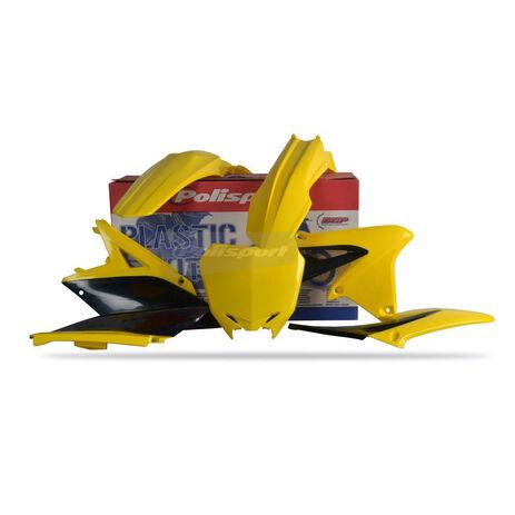 _Kit plastiques polisport Suzuki RMZ 250 10-14 | 90252 | Greenland MX_