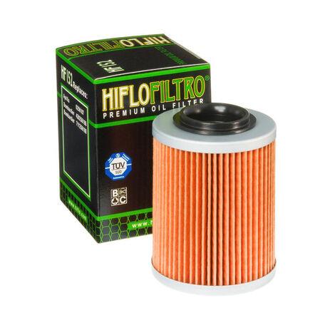 _Filtre a Huile Hiflofiltro Aprilia/Bombardier/Can-Am ATV | HF152 | Greenland MX_