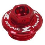 _Bouchon de remplissage huile Honda Yamaha Rouge | ZE89-2110 | Greenland MX_