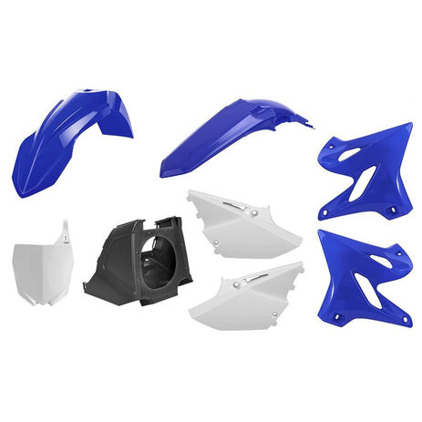 _Kit Plastiques Polisport MX Restyling Yamaha YZ 125/250 02-14 à 15-18 OEM   90716   Greenland MX_