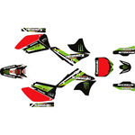 _Kit Autocollant Complète Kawasaki KX 250 F 06-08 Pro Circuit | SK-KX250F0608POPC-P | Greenland MX_