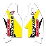 _Autocollants Protections de Fourche Blackbird Suzuki RM 125/250 01-13 RMZ 250 07-18 RMZ 450 05-17 | 5325 | Greenland MX_