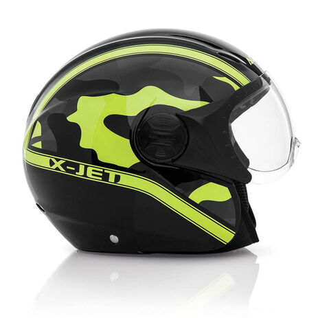 _Casque Acerbis X-Jet On Bike Noir/Jaune | 0021662.318.00P | Greenland MX_