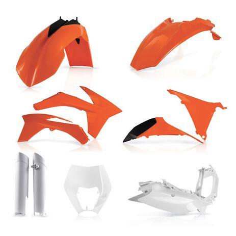 _Full Kit Plastiques Acerbis KTM EXC/EXC-F 12-13 Replica | 0016234.553.012-P | Greenland MX_