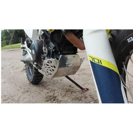 _Sabot Avec Protecteur Echappement et Bielettes KTM 690 End. 08-19 HVA 701 End. 14-19   PK010   Greenland MX_