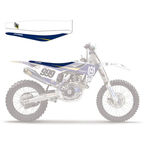 _Housse de Selle Blackbird Replica Ricci Racing 2015 Husqvarna FC/TC 16-18 FE/TE 17-19 | 1622R | Greenland MX_