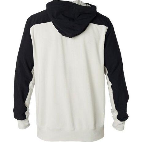 _Sweat à Capuche Fox Axis Blanc/Noir   21150-097-P   Greenland MX_