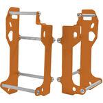 _Protection Radiateur Cross Pro KTM EXC 12-16 SX 11-14 Orange | 2CP06001410010 | Greenland MX_