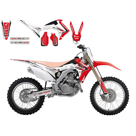 _Kit Adhesivos Blackbird Linear Honda CRF 250 R 14-17 CRF 450 R 13-16 | 2145 | Greenland MX_