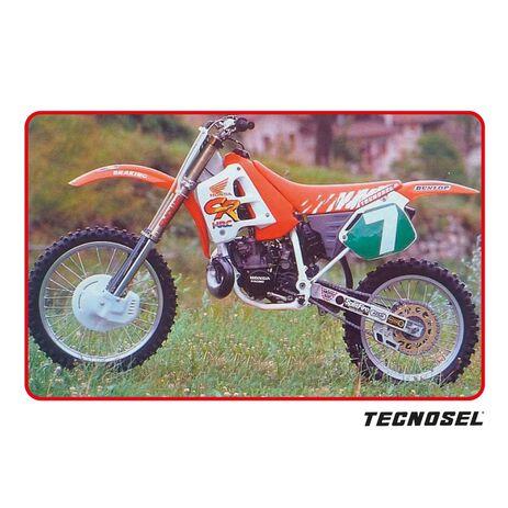 _Housse De Selle Tecnosel Replica Team Honda 1991/USA Honda CR 125 91-92 / 250 90-91 | 11V00 | Greenland MX_