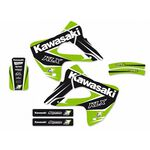 _Kit Deco Blackbird Dream 4 Kawasaki KLX 300 97-08 | 2412N | Greenland MX_