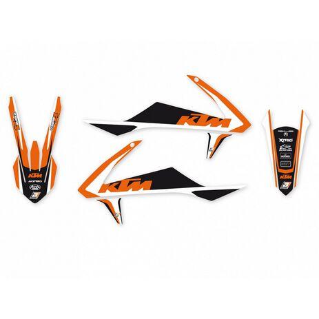 _Kit Complet Deco Blackbird Dream 4 KTM SX/SXF 16-18  EXC 17-19 | 8541N | Greenland MX_